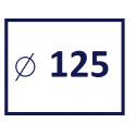 Średnica kanału 125