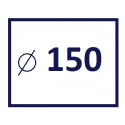 Średnica kanału 150