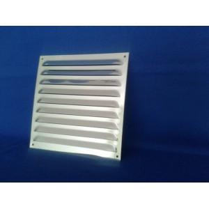 Kratka wentylacyjna metalowa 20x30 chrom