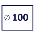 Średnica kanału 100